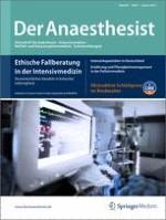 Der Anaesthesist 1/2012