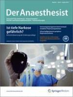 Der Anaesthesist 8/2012