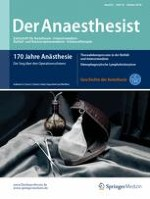 Der Anaesthesist 10/2016