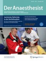 Der Anaesthesist 11/2016