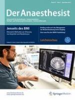 Der Anaesthesist 9/2016