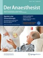 Der Anaesthesist 11/2017