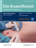 Der Anaesthesist 12/2017