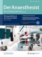 Der Anaesthesist 2/2017