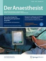 Der Anaesthesist 9/2017