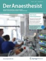 Der Anaesthesist 11/2018
