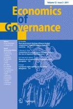 Economics of Governance 2/2011