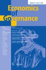 Economics of Governance 3/2012