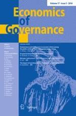 Economics of Governance 3/2016