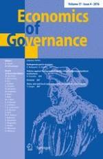 Economics of Governance 4/2016