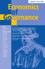 Economics of Governance 3/2018