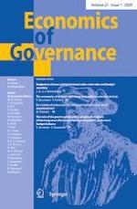 Economics of Governance 1/2020