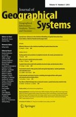 Journal of Geographical Systems 3/2013