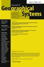 Journal of Geographical Systems 1/2015