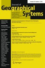 Journal of Geographical Systems 2/2018