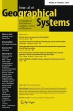 Journal of Geographical Systems 3/2018