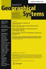 Journal of Geographical Systems 4/2018