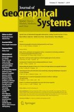 Journal of Geographical Systems 1/2019