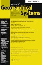 Journal of Geographical Systems 4/2019