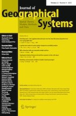 Journal of Geographical Systems 4/2020