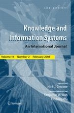 Knowledge and Information Systems 2/2008