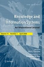 Knowledge and Information Systems 1/2008
