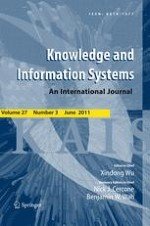 Knowledge and Information Systems 3/2011