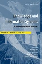 Knowledge and Information Systems 1/2013