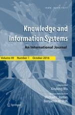 Knowledge and Information Systems 1/2016
