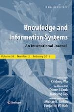 Knowledge and Information Systems 2/2019