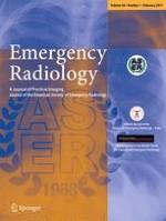 Emergency Radiology 1/2017