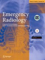 Emergency Radiology 6/2017
