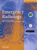 Emergency Radiology 4/2018