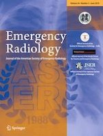 Emergency Radiology 3/2019