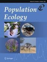Population Ecology 4/2016