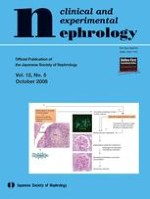 Clinical and Experimental Nephrology 5/2008