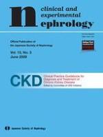 Clinical and Experimental Nephrology 3/2009