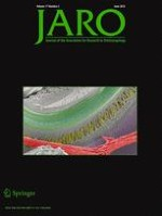 Journal of the Association for Research in Otolaryngology 3/2016