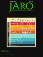 Journal of the Association for Research in Otolaryngology 1/2017