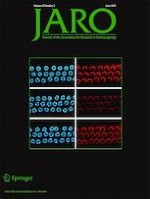 Journal of the Association for Research in Otolaryngology 3/2019