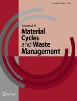 Journal of Material Cycles and Waste Management 2/2009
