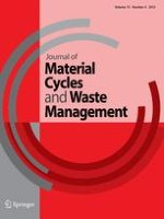 Journal of Material Cycles and Waste Management 4/2013