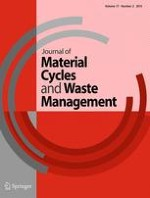 Journal of Material Cycles and Waste Management 2/2015