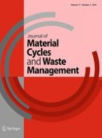 Journal of Material Cycles and Waste Management 3/2015