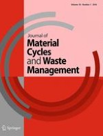 Journal of Material Cycles and Waste Management 1/2016