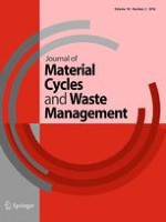 Journal of Material Cycles and Waste Management 2/2016