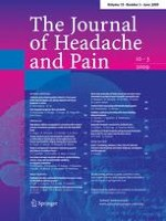 The Journal of Headache and Pain 3/2009