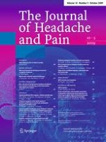 The Journal of Headache and Pain 5/2009