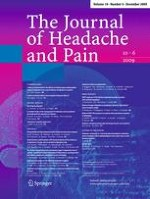 The Journal of Headache and Pain 6/2009