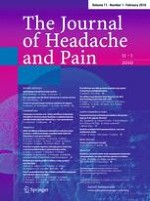 The Journal of Headache and Pain 1/2010